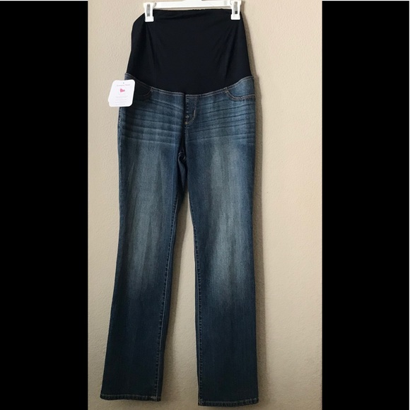 c193f20080b Isabel Maternity Full Panel Bootcut Jeans NWT